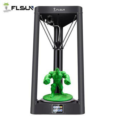 Flsun QQ S Delta Kossel Auto-Level Upgraded Resume Pre-assembly 3D Printer