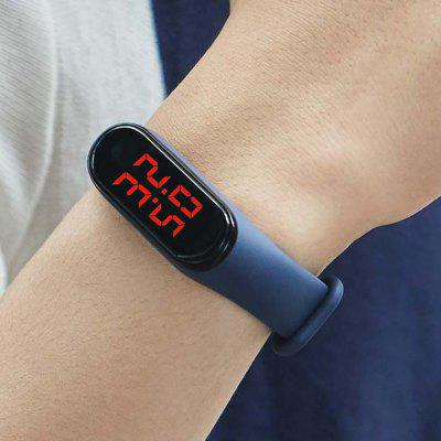 Real-time Body Temperature Watch Sports Modes Sports Smart Wristband with Temp Sensor