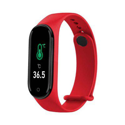 Smart Wristband Real-time Body Temperature Watch Heart Rate blood pressure Monitor Sports Modes
