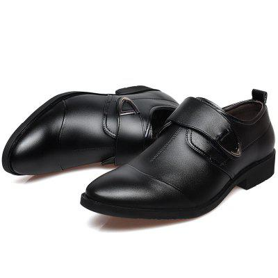 New Fashion Casual Pointed Men Leather Shoes Business Men Work Shoes Wedding Shoes