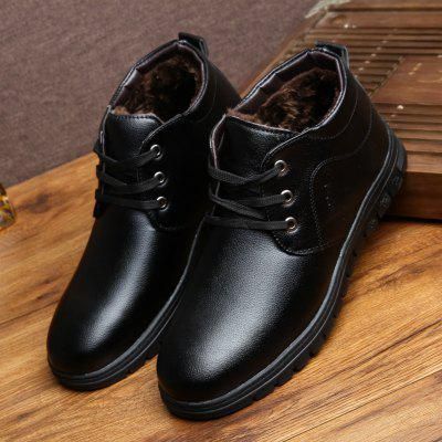 Winter Snow Boots Men Casual Shoes High-top Fashion Footwear