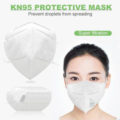 N95 KN95 Mask Dustproof Anti-fog Smog Breathable Face Masks Non-medical