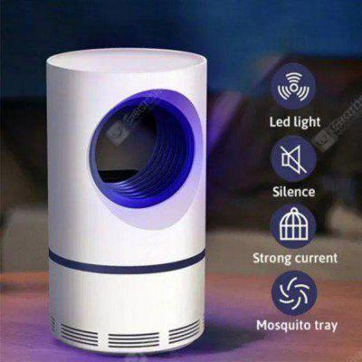 Mosquito Killer Lamp Environmental Non-Toxic Energy-saving Quiet Insect Trap LED Night Lights USB Charging- White