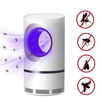 Mosquito Killer Lamp Novelty LED Fly Bug Insect Killer Trap Physical Anti Mosquito Lights- White