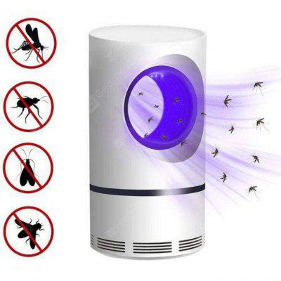 Mosquito Killer Lamp USB LED Small Night Light Insects-killing Lamp - White