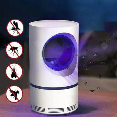 Mosquito Killer Lamp LED Fly Bug Insect Killer Trap Physical Anti Mosquito Night Light USB Charging- White