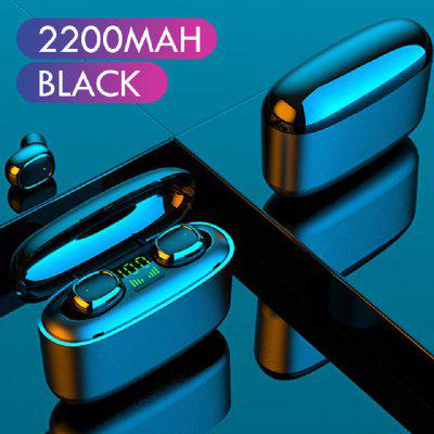 G5S Bluetooth 5.0 Earbuds True Wireless Stereo Bluetooth Headphones 100Hrs Playtime LED Battery Display Noise Cancelling