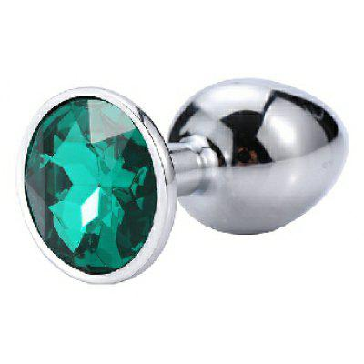 Anal Plug Sex Toys Mini Round Metal Crystal Jewelry Women / Men for Butt Small Unisex Adult Store