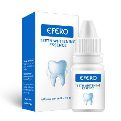 EFERO Teeth Whitening Essence Powder Clean Oral Hygiene Whiten Remove Plaque Stains Fresh Breath Dental Tools