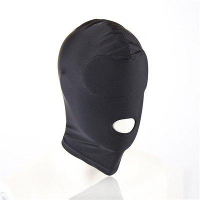 Adult Games Sex Toys for Couples SM Bondage Soft Sexy Head Mask Headgear Erotic Black Slave Restraint Hood