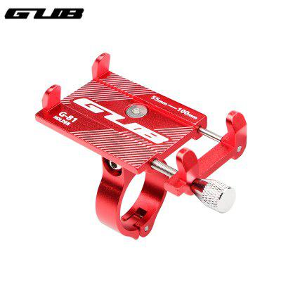 GUB G-81 Aluminum Bike Phone Holder For Adjustable Device Bicycle Mobile Phone Stand Scooter Moto Mount Support Handlebar Clips