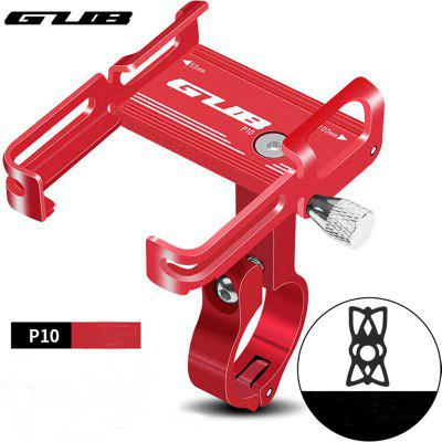 GUB P10 Aluminum Bike Phone Holder For Adjustable Device Bicycle Mobile Phone Stand Scooter Moto Mount Support Handlebar Clips