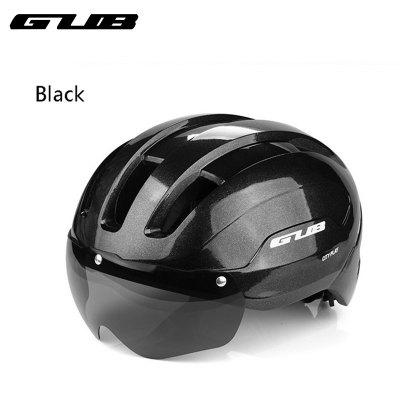 GUB CITY PLAY Helmet Road Bike Helmet Breathable Integrally Molded Cycling Roller Rock Magnetic Goggles Adjustable Head Circumference 9 Air Vents