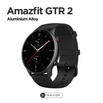 2021 New Amazfit GTR 2 Smartwatch 14 Days Battery Life 326ppi AMOLED Display Music 5ATM Confident Time Control Sleep Monitoring