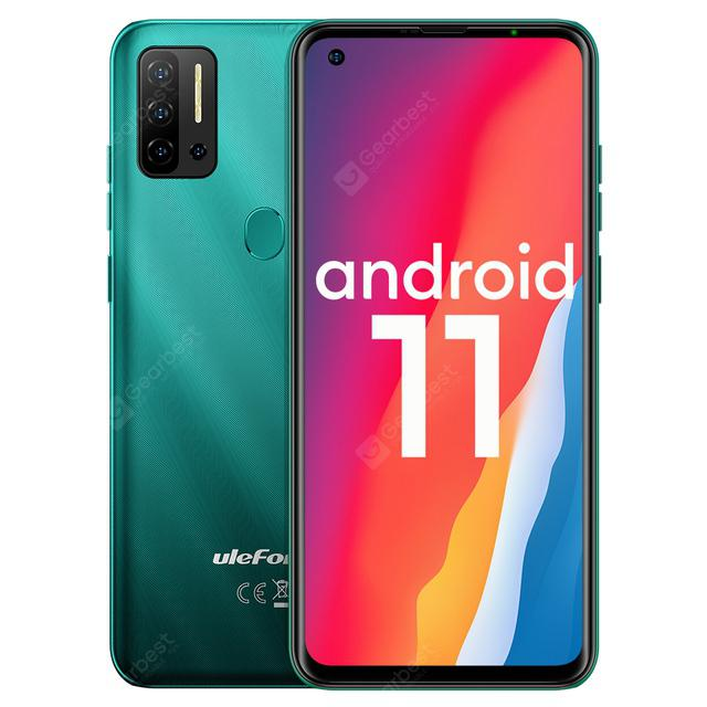 Ulefone Note 11P Android 11 Smartphone 8GB +128GB 4G-LTE Unlocked Phone Global Vision 4400mAh 48MP Camera 6.55 Mobile Phone