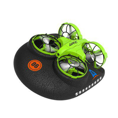 JJRC H94 2.4G 6-Axis 3-in-1 Sea Land Air Mini RC Boat Quadcopter Drone Infrared Control RC Drones Vehicle Kids Toys 3D Flip Boat