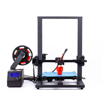CTC A10S New Design Pre-assmbly 3D Printer Large Printing Area 300x300x400mm Hot Resume Power Failure