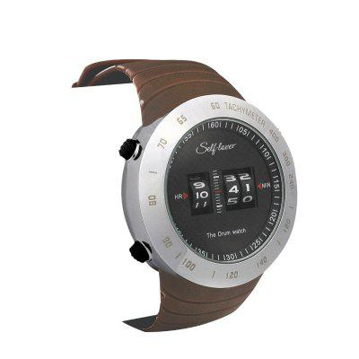 Outdoor Swimming Running Sports Mountaineering Waterproof Electronic Watches Casual Couples Fashion Tide Roller Quartz Watch