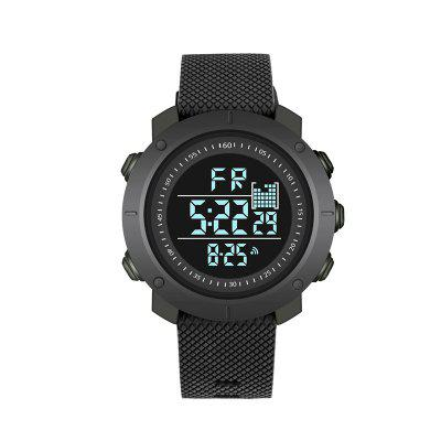 Fashion Trend Men and Women Couples LED Watch Waterproof Outdoor Sports Running Multi-function Electronic