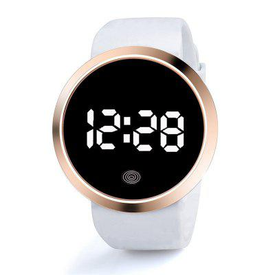 New Round Touch Screen LED Electronic Watch Casual Sports Simple Fashion Men and Women Couple Watches Digital