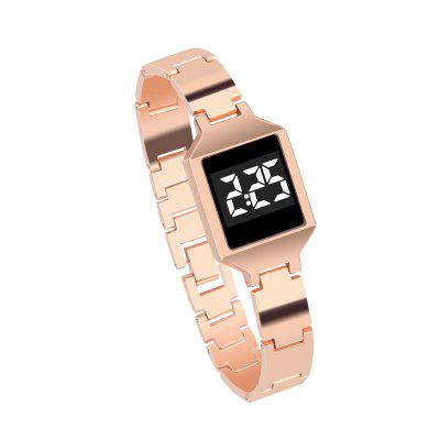 Multifunctional Leisure Sports Business Electronic Watch Waterproof Fashion Simple High-definition Screen Alloy
