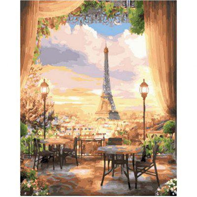 DIY Painting By Numbers Modern Wall Art Picture Paint For Home Decor w9304
