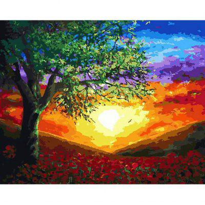 DIY Painting By Numbers Modern Wall Art Picture Paint For Home Decor w9303