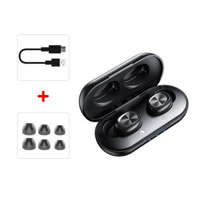 Фото - Jeaper TWS True Wireless Headphones EB03 Bluetooth Earphones Touch Control 9D Hifi Stereo Wireless Earphone Sport Earbuds Headset For Phone Xiaomi Mic kbear kb06 hifi metal earphone high quality sound tiktok same style china