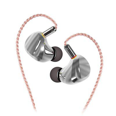 New TRI I3 Planar Magnetic+Composite 8MM Dynamic Driver+Balanced Armature Driver Hybrid In Ear Earphone HIFI DJ Metal