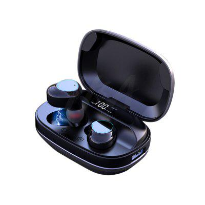 TWS Bluetooth V5.0 Wireless Earphones Headphones IPX7 Waterproof Headset HIFI Noise Cancelling Earbuds With 2000mAh Charging Box
