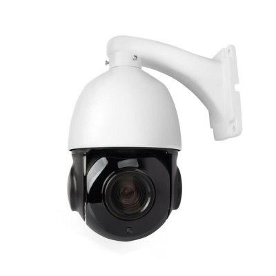 Outdoor PTZ POE Camera Pan/Tilt/ 30x Zoom 2MP Ultra HD Security PTZ IP Speed Dome Camera H.265 dh outdoor 2mp 30x starlight ir ptz camera sd59230u hni ivs and auto tracking ptz speed network dome camera sd59230u hni