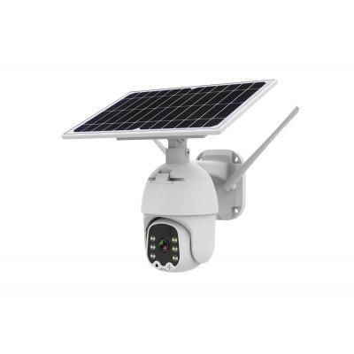 8W Solar wi-fi version IP Camera 1080P HD Outdoor WiFi  Wireless Speed Dome CCTV Security Battery Long Standby
