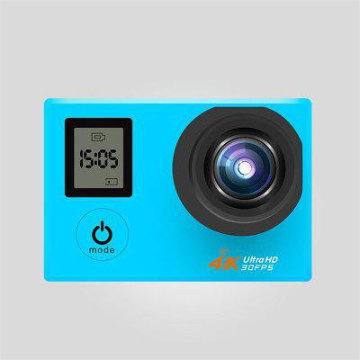 Waterproof 4K Front And Rear Dual Display Screen With Remote Control WIFI Outdoor Sports Camera DV Diving Aerial Photography HD Mini Video Recorder Image