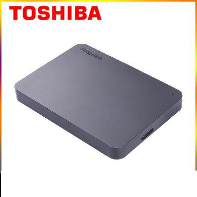Original Toshiba New Small Black A3 High Speed 2.5 Inch USB3.0 Compatible With MAC lightweight 1t 2T 4T Mobile Hard Disk