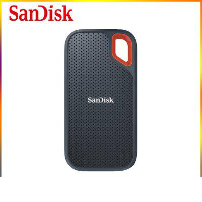 SanDisk Original Sandi E60 High Speed Waterproof And Falling Resistant Hard Disk Compact Business Computer 500g 1TB 2TB Mobile SSD Solid State