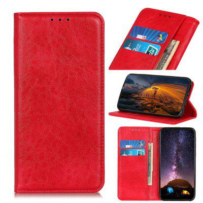 PU Leather Wallet Case Protection Card Slots  Flip Cover for Fujistu Arrows U / J