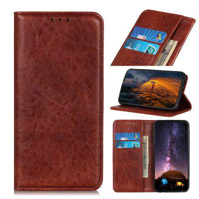 PU Leather Wallet Case Protection Card Slots  Flip Cover for Motorola Moto E6