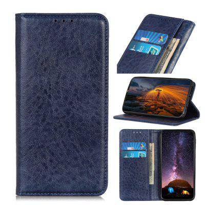 PU Leather Wallet Case Protection Card Slots Flip Cover for OPPO Reno 4 Pro