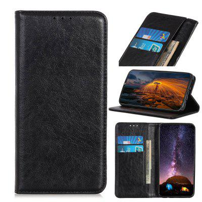 PU Leather Wallet Case Protection Card Slots  Flip Cover for Huawei Y8S / Y9 2019 Enjoy 9 Plus