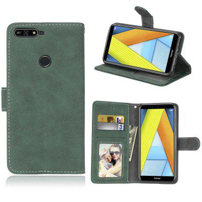 Card Slots Wallet Case Flip Cover PU Leather for Huawei Honor 7A / Pro Y6 2018 Prime Enjoy 8e