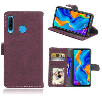 Card Slots Wallet Case Flip Cover PU Leather for Huawei P30 Lite