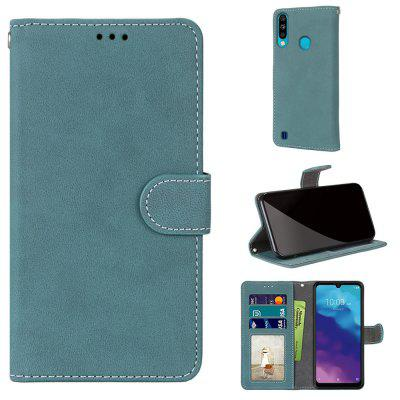 Card Slots Wallet Case Flip Cover PU Leather for ZTE Blade A7 2020