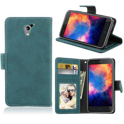Card Slots Wallet Case Flip Cover PU Leather for ZTE Blade A510 BA510