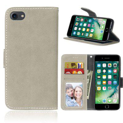 Card Slots Wallet Case Flip Cover PU Leather for  iPhone 7 8 iPhone7
