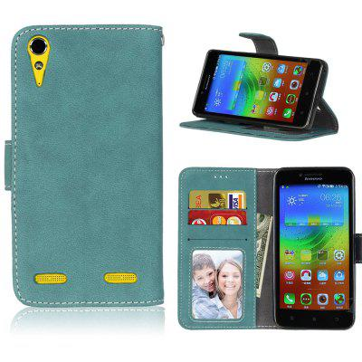 Card Slots Wallet Case Flip Cover PU Leather for Lenovo K3 A6000