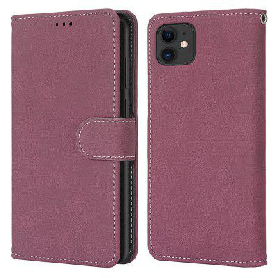 Card Slots Wallet Case Flip Cover PU Leather for  iPhone 11