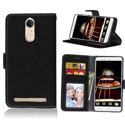 Card Slots Wallet Case Flip Cover PU Leather for Lenovo K5 Note A7020