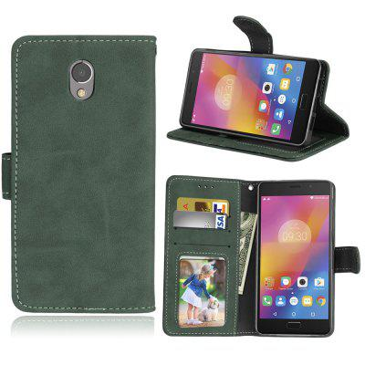 Card Slots Wallet Case Flip Cover PU Leather for Lenovo Vibe P2 P2a42