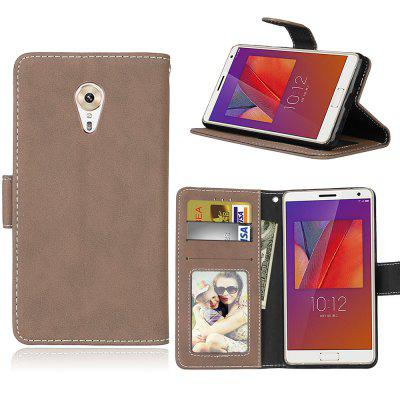 Card Slots Wallet Case Flip Cover PU Leather for Lenovo ZUK Edge