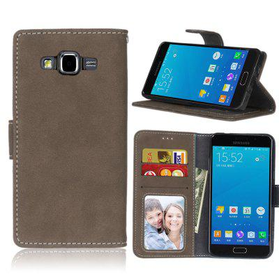Card Slots Wallet Case Flip Cover PU Leather for Samsung Galaxy A5 A500